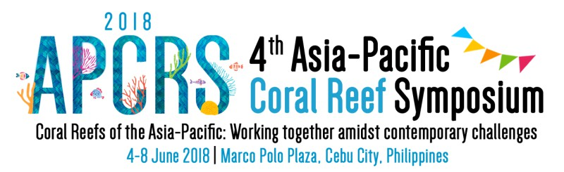 TASCMAR at the Asia Pacific Coral Reef Symposium 2018