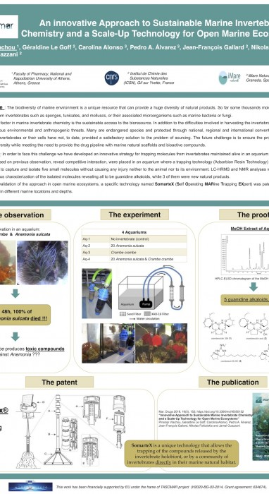 An innovative Approach to Sustainable Marine Invertebrate Chemistry and a Scale-Up Technology for Open Marine Ecosystems