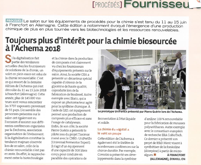 Article Formule Verte Unifertex