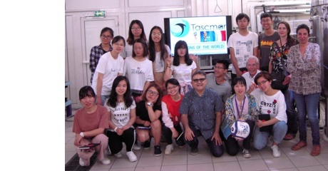 Students from HUST (China) visited CNRS and SomarteX