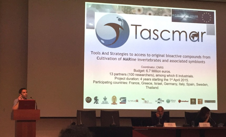 TASCMAR highlighted in Natural Products Summer School