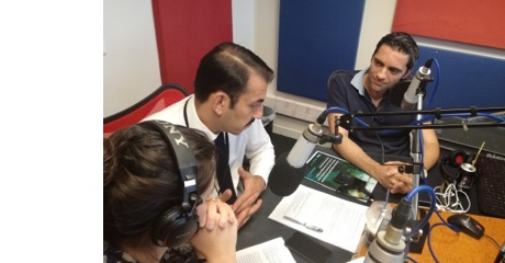 TASCMAR presented on radio in Athens