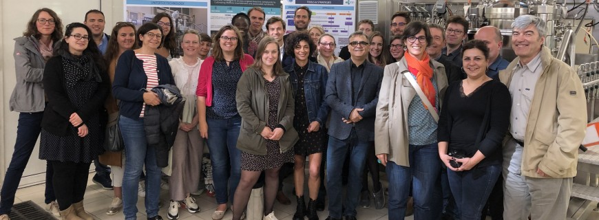 Managers of the Partnership & Valorization Services of CNRS visited us !!!